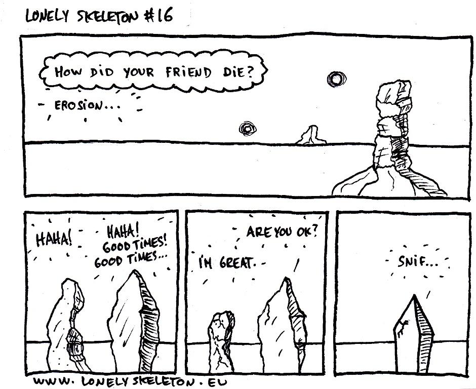 Lonely Skeleton #16