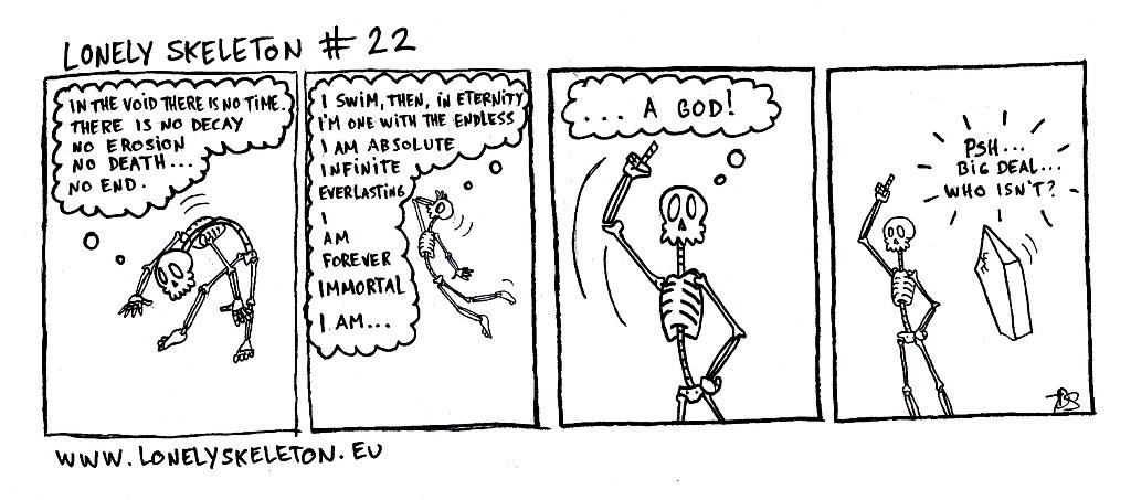 Lonely Skeleton #22