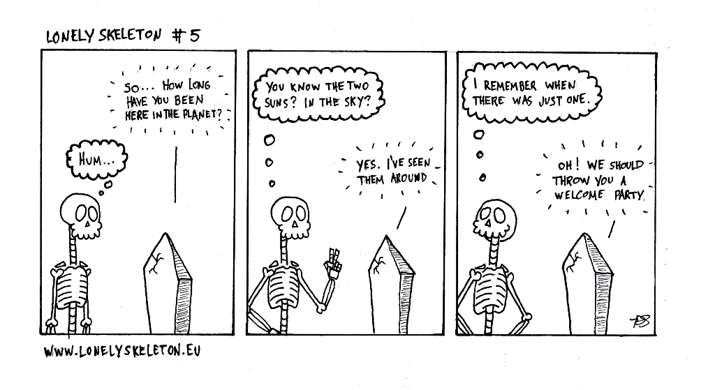 Lonely Skeleton #5