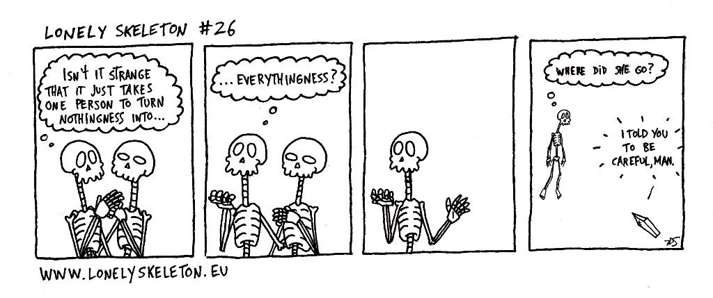 Lonely Skeleton #26