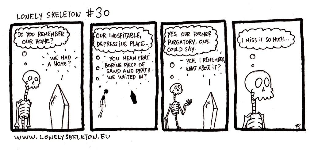 Lonely Skeleton #30