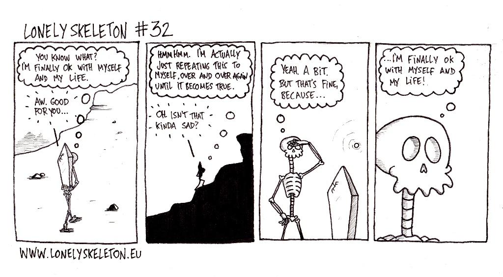Lonely Skeleton #32