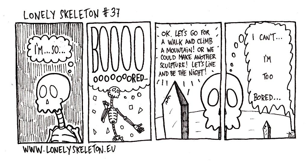 Lonely Skeleton #37