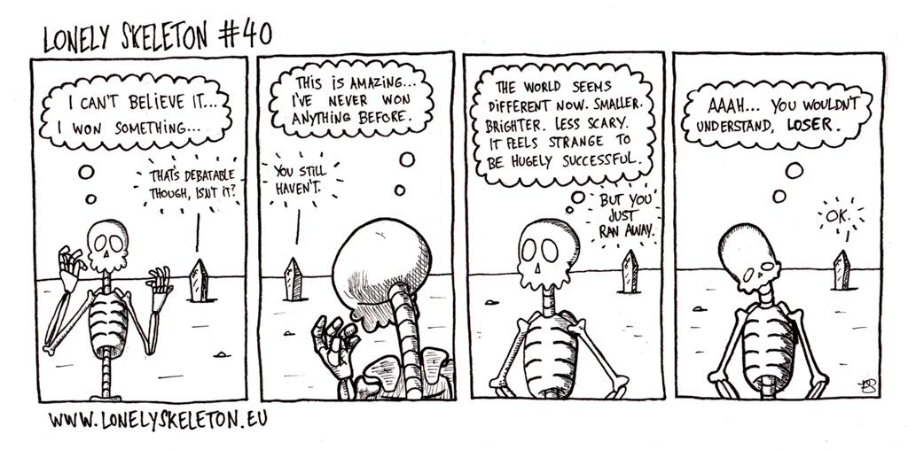 Lonely Skeleton #40