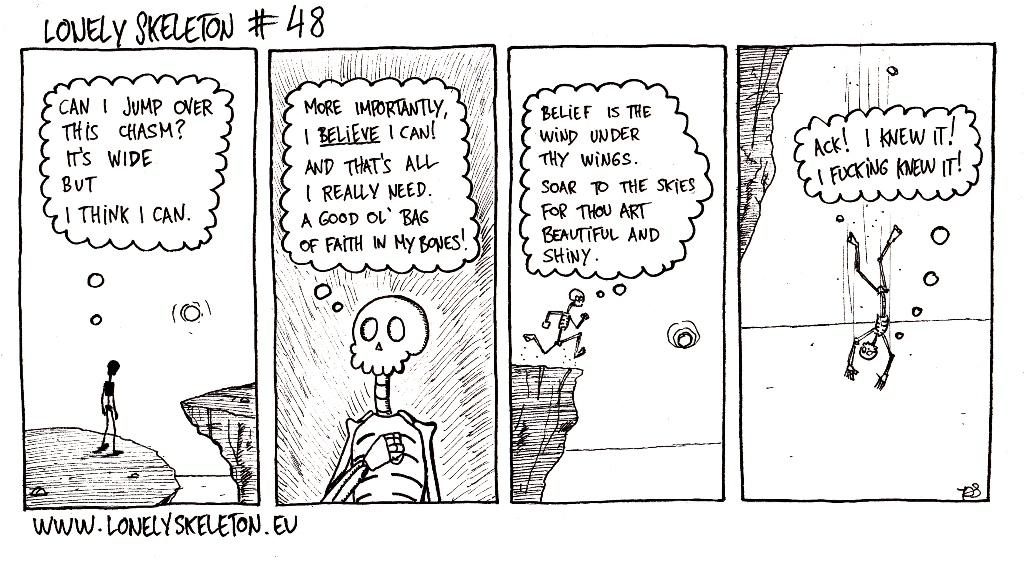 Lonely Skeleton #48