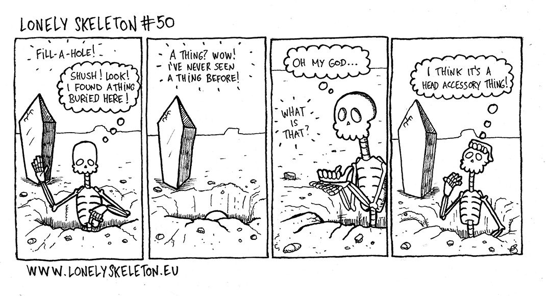 Lonely Skeleton #50