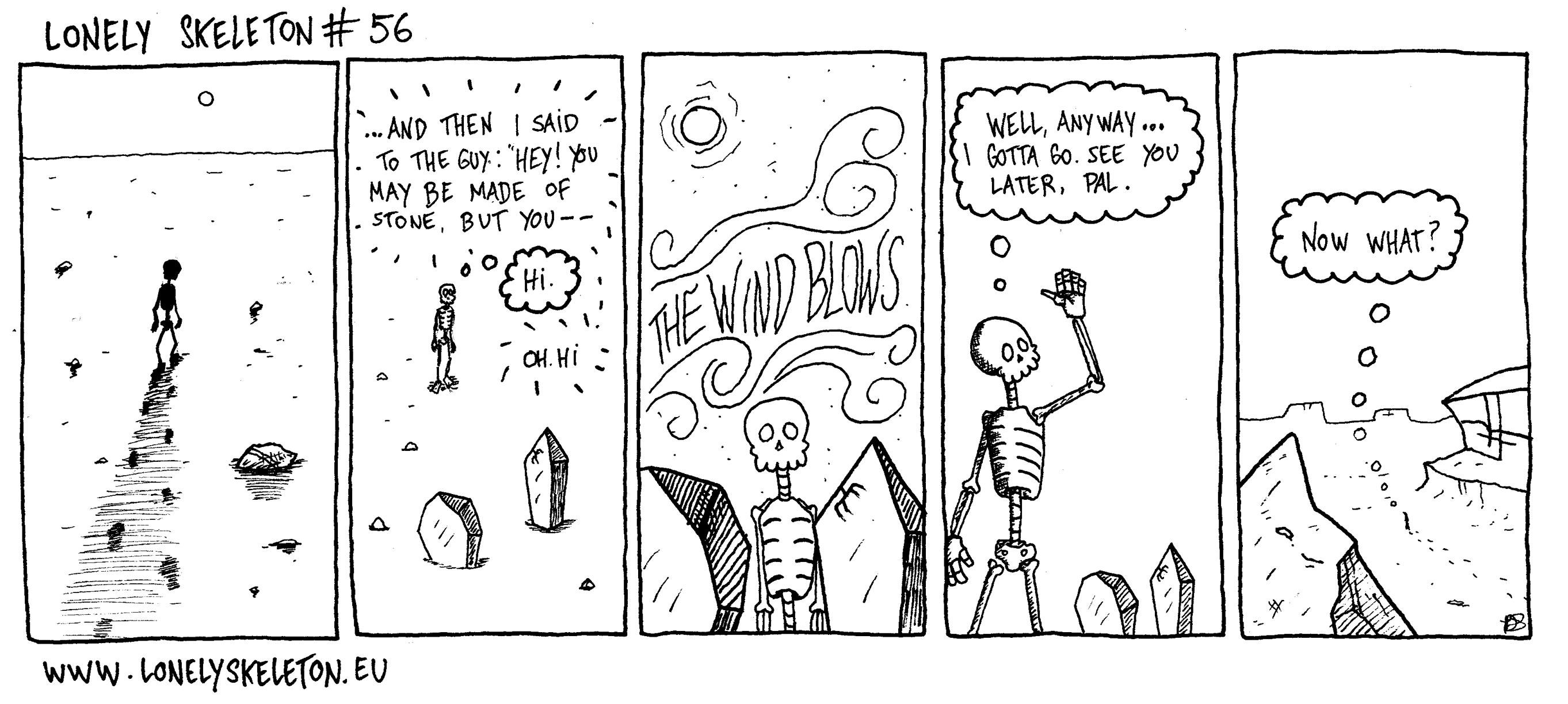 Lonely Skeleton #56