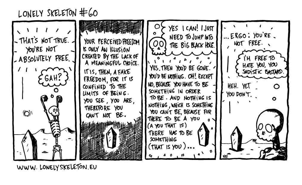 Lonely Skeleton #60