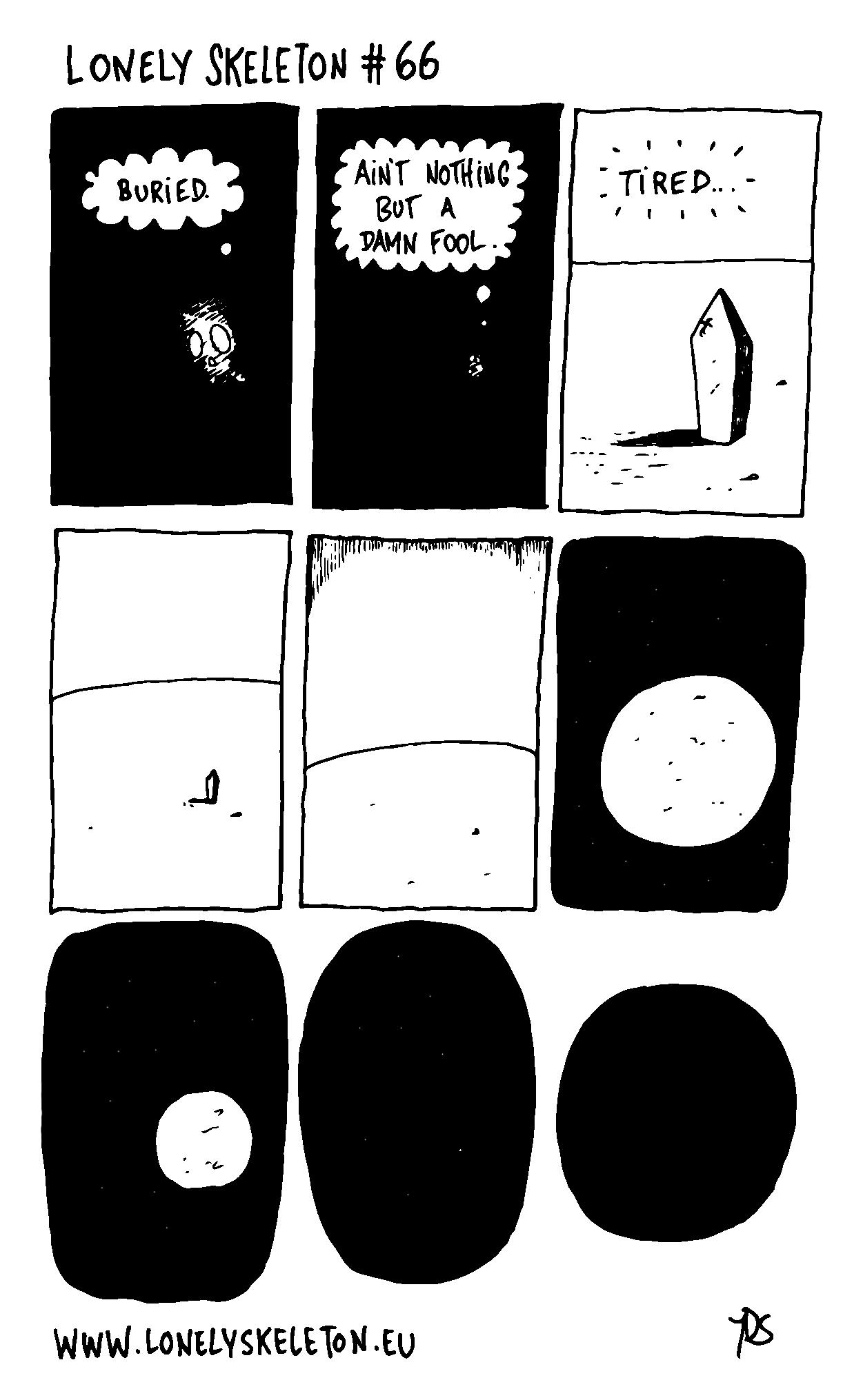 Lonely Skeleton #66