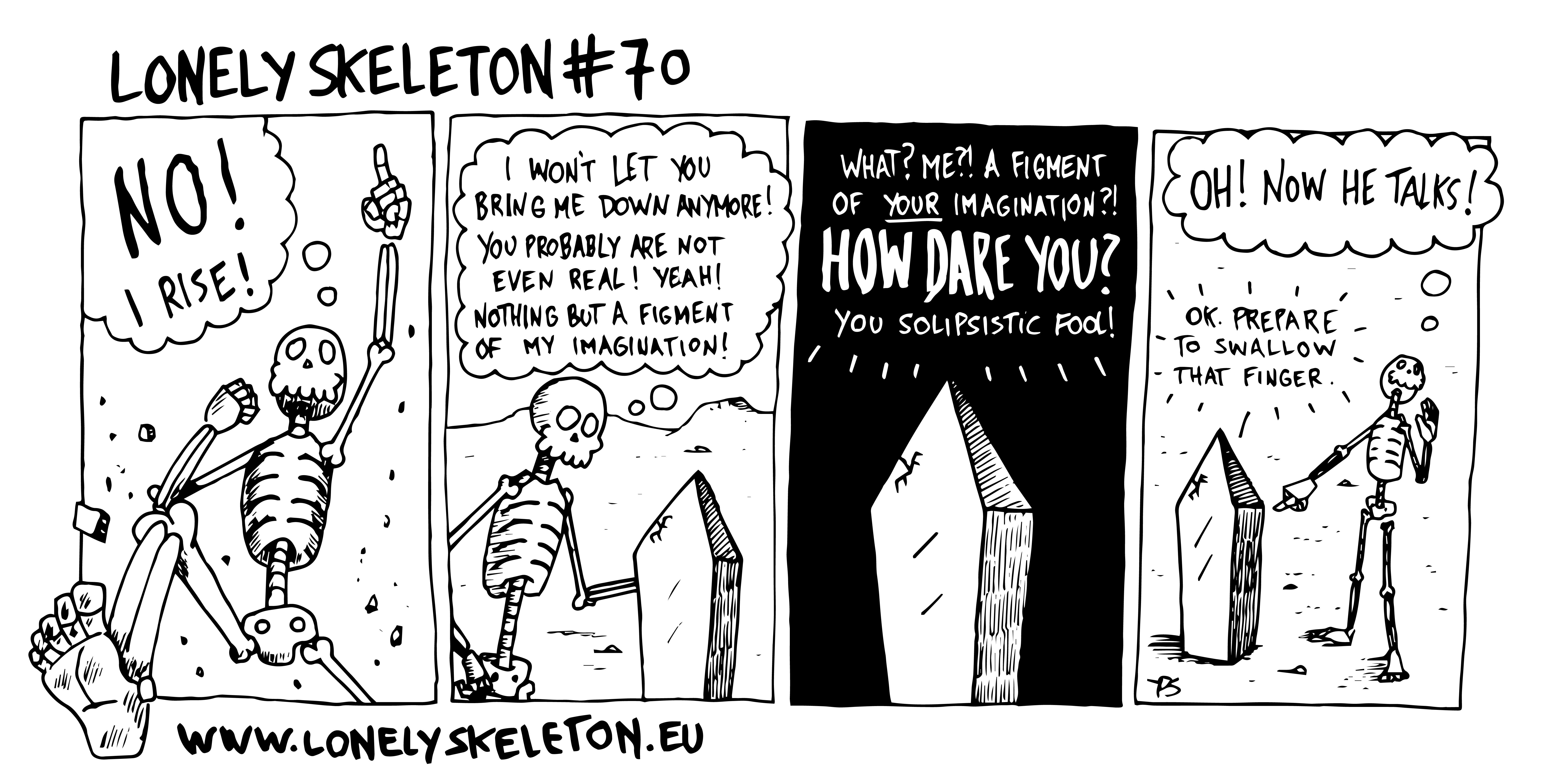 Lonely Skeleton #70