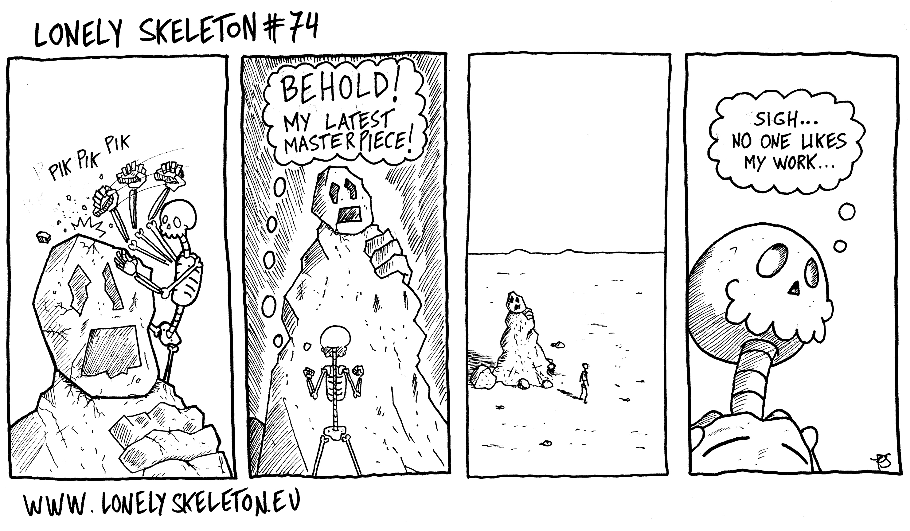 Lonely Skeleton #74