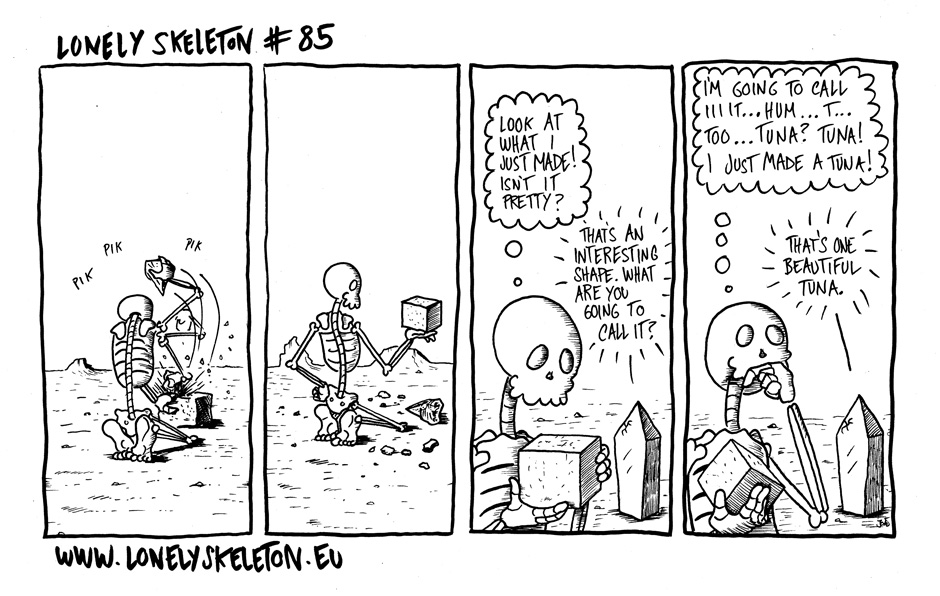 Lonely Skeleton #85