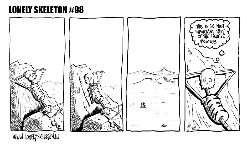 Lonely Skeleton #98