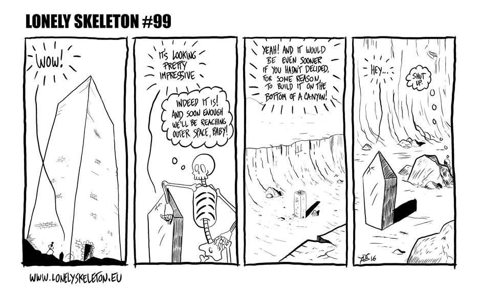 Lonely Skeleton #99