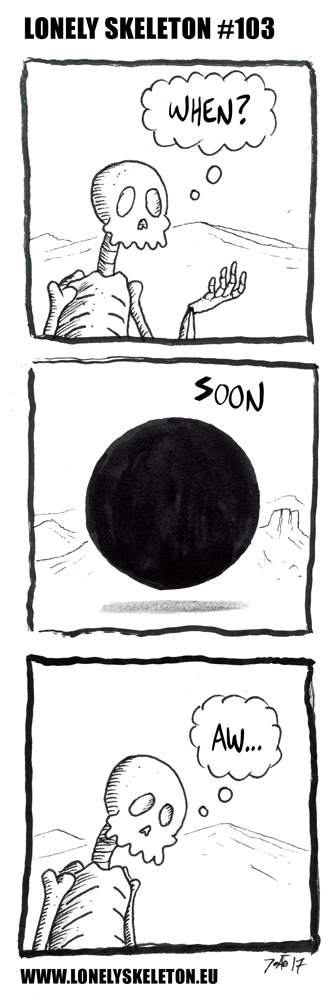 LONELY SKELETON #103